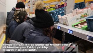 efficient order picking with pick-by-light at kochzauber
